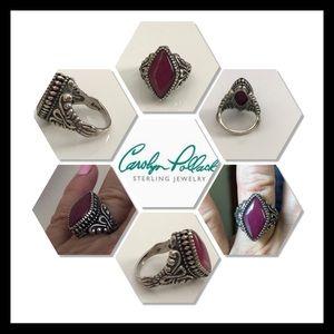 Carolyn Pollack Ruby Ring